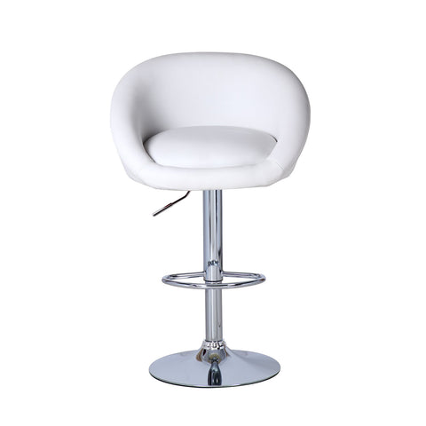 BS01 High Bar Stool (White)