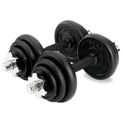 20kg Black Chrome Dumbbell