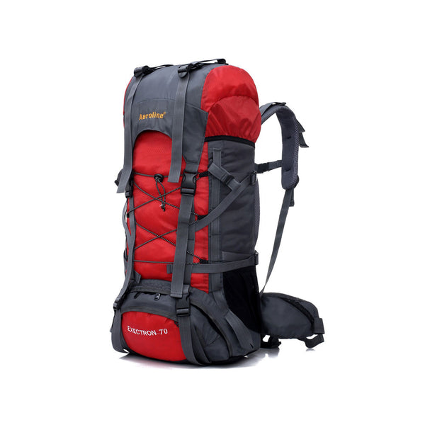 Aeroline Mountaineering Backpack 55L - Red