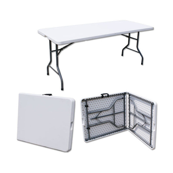 Z183 Hdpe Plastic Folding Table 6ft Suchprice Malaysia