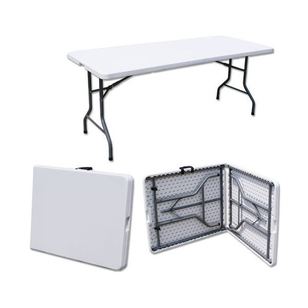 Z183 HDPE Plastic Folding Table (6FT)