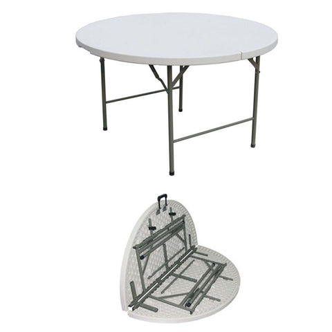 ZY122 HDPE Round Folding Table (4 FT)