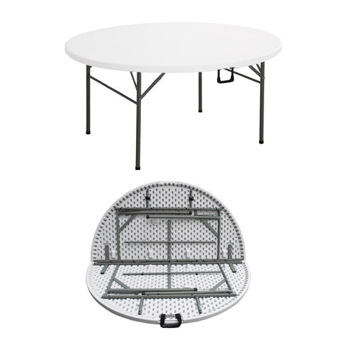 ZY152 HDPE Round Folding Table (5 FT)