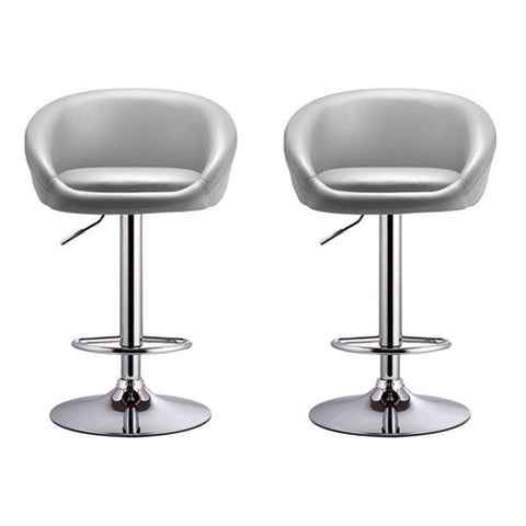 BS01 High Bar Stool (Grey) Set of 2