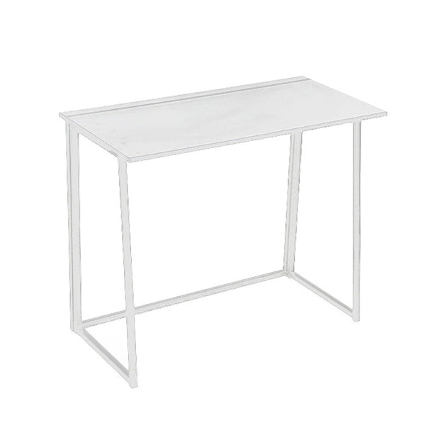 W02 Easy DIY Foldable Desk - White