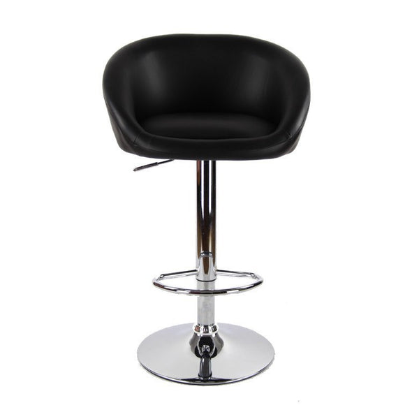 BS01 High Bar Stool (Black)