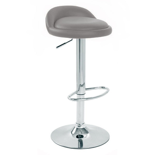 BS02 Low Bar Stool (Grey)
