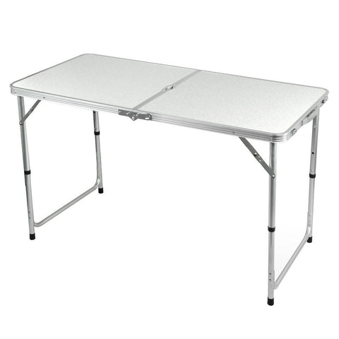 Portable Height-Adjustable Aluminium Table