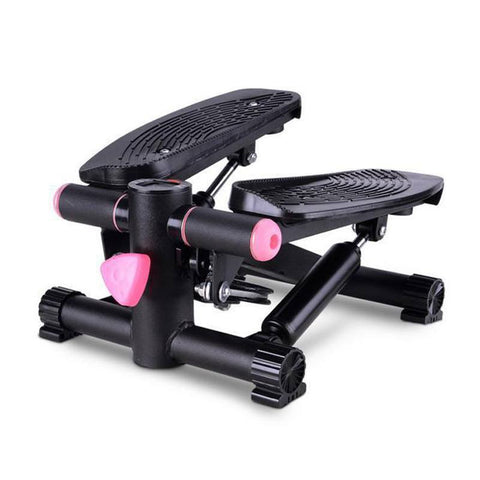 Fitness Stepping Machine (Black) with Resistance Band