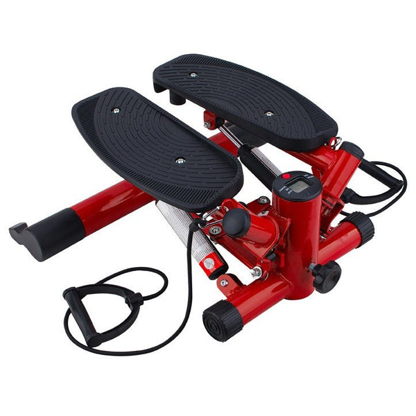 Fitness Stepping Machine (Red) with Resistance Band