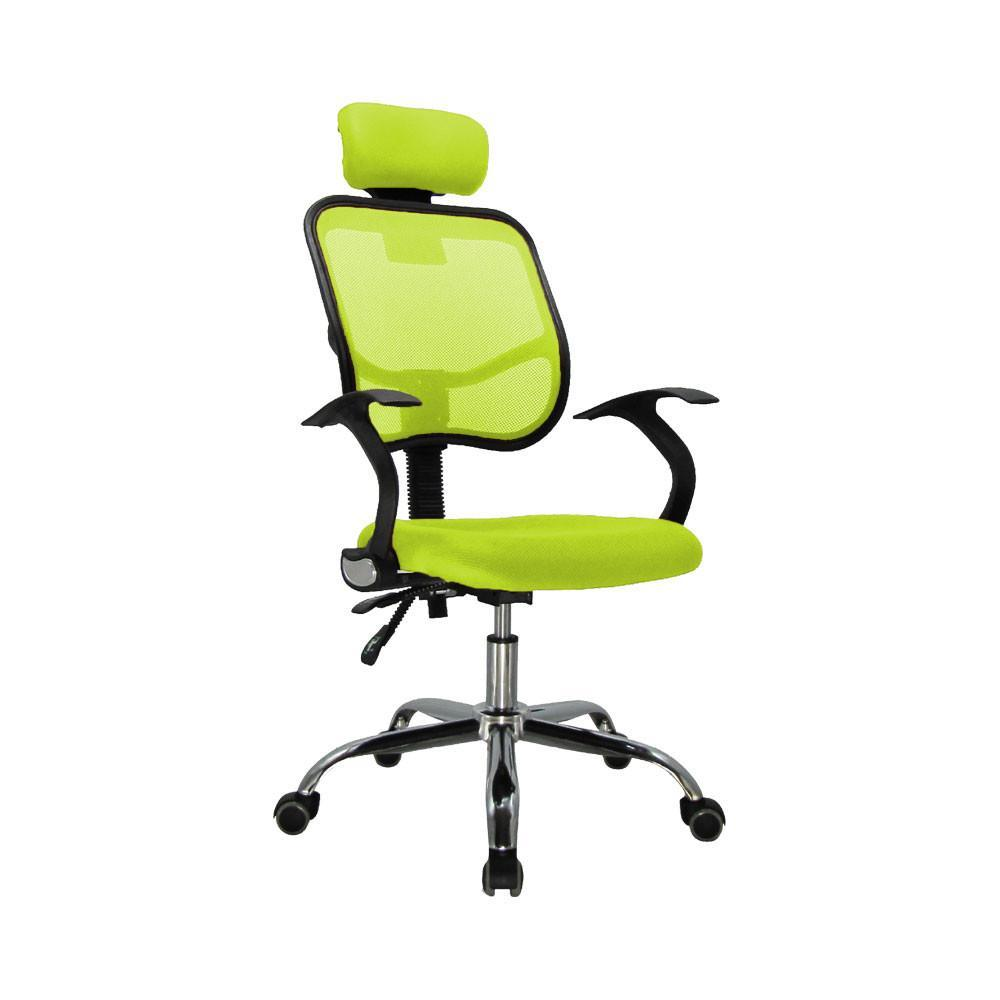 High Back Office Chair With Mesh And Head Rest Green D05  : office chair high back office chair with mesh and head rest green d05 1 from suchprice.my size 1000 x 1000 jpeg 36kB