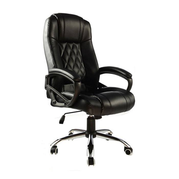 Presidential High Back PU Leather Chair Black  : office chair presidential high back pu leather chair black 1 from suchprice.my size 700 x 700 jpeg 22kB