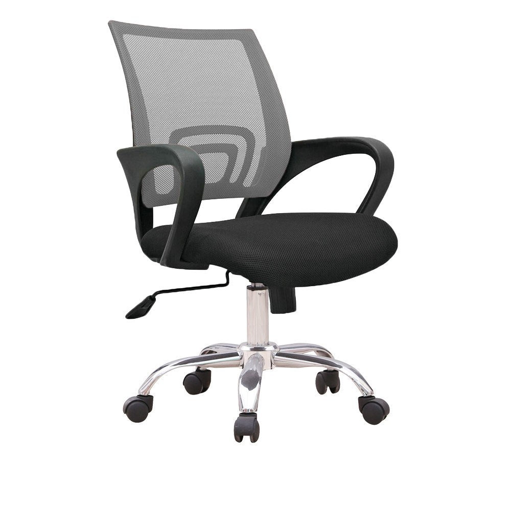 Standard Ergonomic Officer Chair With Mesh And Back  : office chair standard ergonomic officer chair with mesh and back support grey c12 1 from suchprice.my size 1000 x 1000 jpeg 58kB