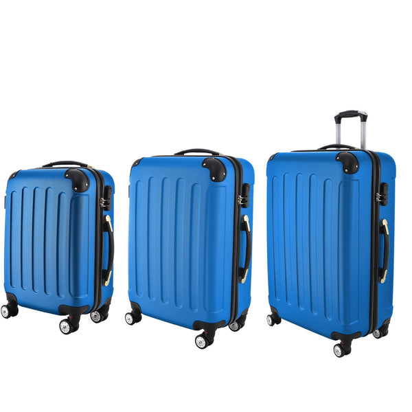 AS16 Travel Luggage (Blue) Set of 3
