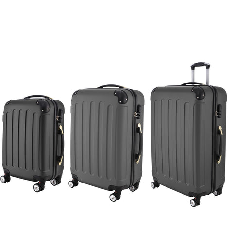 AS16 Travel Luggage (Grey) Set of 3