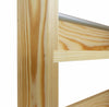 Solid Pine Spice Rack 2 Tiers / Shelves - SilverAppleWood