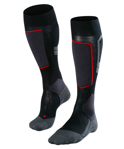 Falke SK4 Ladies Ski Socks in Black
