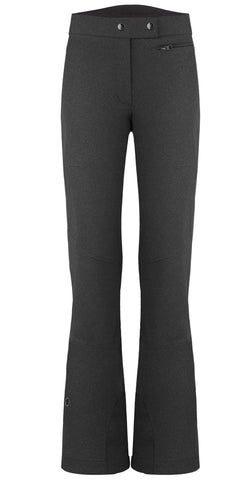 Poivre Blanc W20-0821-WO Softshell Ski Pant in Lurex Black