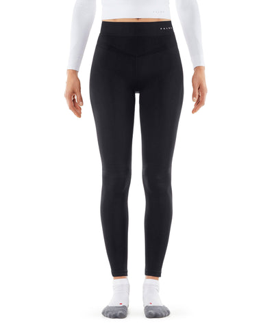 Falke Long Thermal Ski Leggings in Black