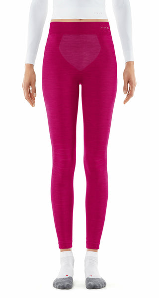 Falke Thermal Wool Ski Leggings for Women in Berry