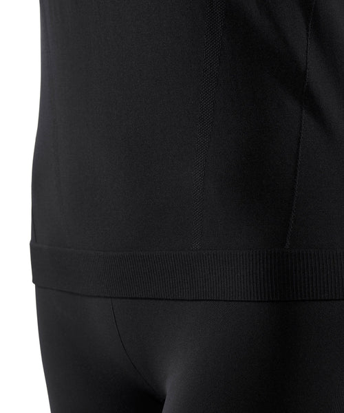 Falke Long Sleeved Comfort Fit Black Ski Base Layer