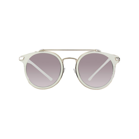 Calvin Klein Sunglasses CK2149S in White and Gold