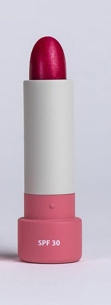 Albus & Flora Multi Active Sheer Lip Balm in Snowberry Red