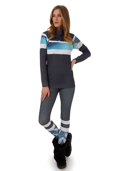 H. Holderness Bellecôte Leggings in Blue