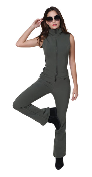 Kelly by Sissy Emma Softshell Army/Black Ski Suit