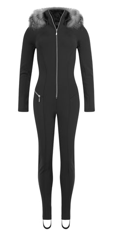 Emmegi Winnie One Piece Ski Suit in Black
