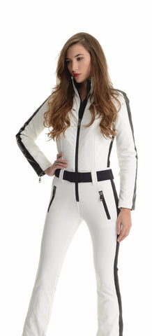Goldbergh Phoenix One Piece Ski Suit in White