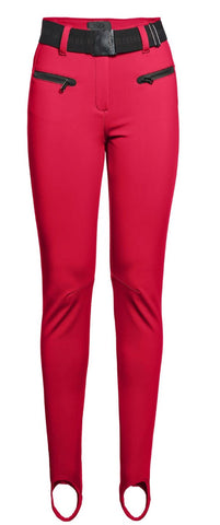 Goldbergh Paris Lava Red Skinny Stirrup Ski Pant