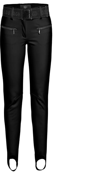 Goldbergh Paris Black Skinny Stirrup Ski Pant