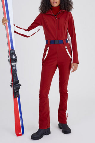 Perfect Moment GT Red One Piece Ski Suit