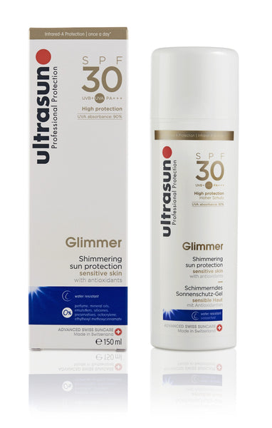 Ultrasun Glimmer Sunscreen with SPF 30
