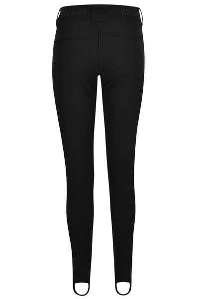 Goldbergh Paris Long Black Skinny Stirrup Ski Pant