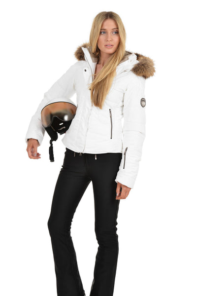 Goldbergh Angel Ladies Designer Ski Helmet White