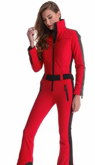 Goldbergh Phoenix One Piece Red Ski Suit