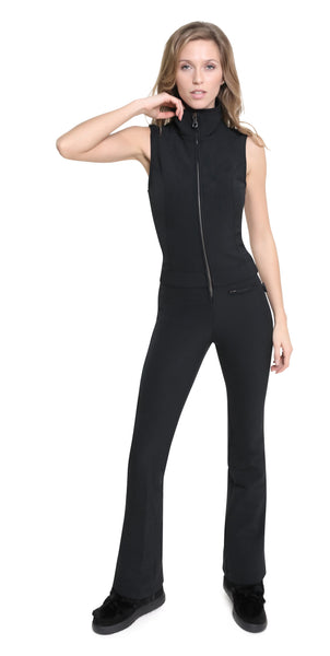 Kelly by Sissy Emma Softshell black Ski Suit
