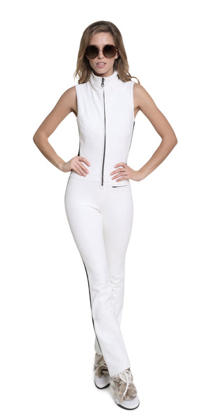 Kelly by Sissy Emma Softshell white Ski Suit