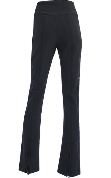 High Society Lani Softshell Ski Pant in Black and Gold