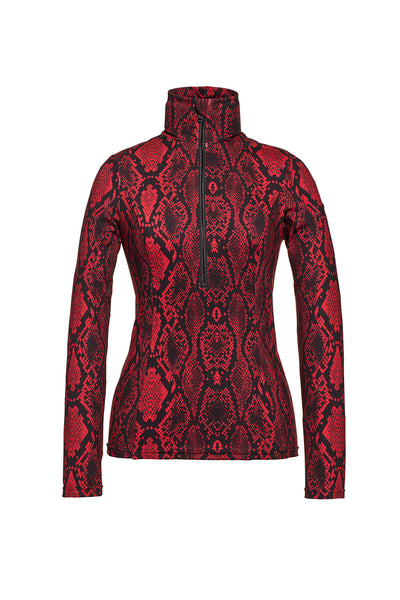 Goldbergh Linda Base Layer in Red Python