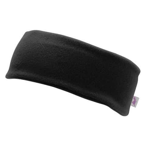 Manbi Fleece Headband in Black