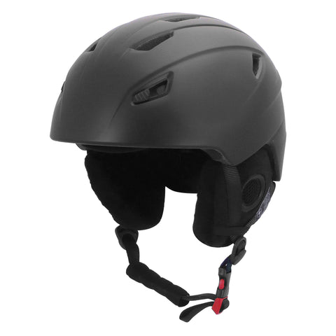 Manbi Park Ladies Black Ski Helmet