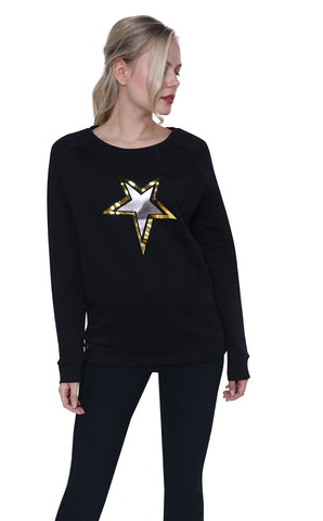 High Society Nova Sweater in Black
