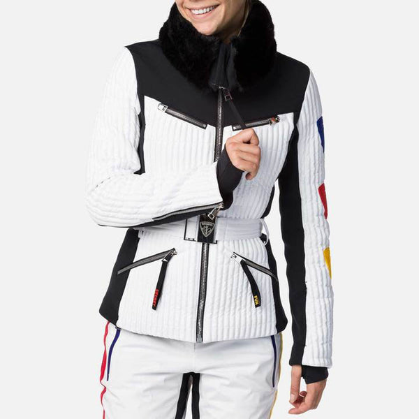Rossignol JCC Maddy Ski Jacket in White