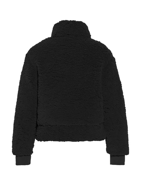 Goldbergh Rachel Fleece Sweater in Black