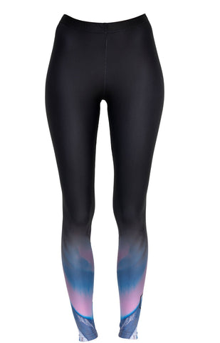 Henrietta Holderness Rose Leggings in Blue and Pink