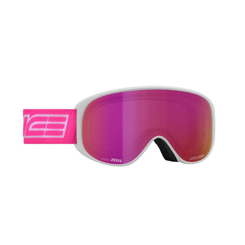 Salice White and Purple Ski Goggles