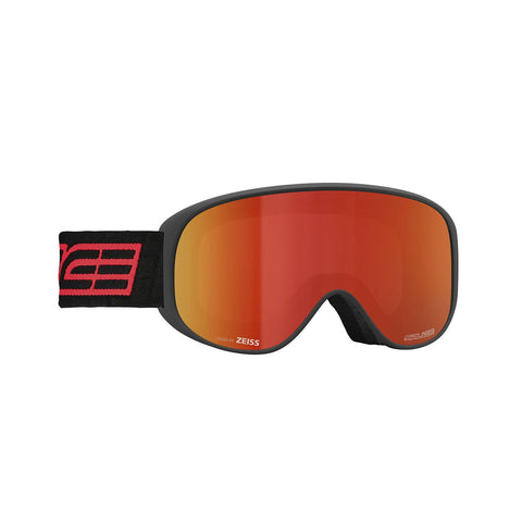 Salice Black and Red Ski Goggles